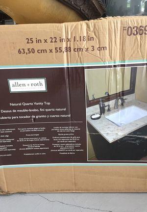 """Vanity top 25"""". Allen & Roth for Sale in Buckhannon, WV"""