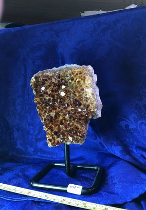 Citrine on display stand for Sale in Mukilteo, WA