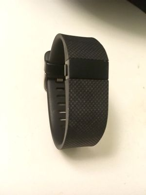 Fitbit Charge HR - black small - comes with charger for Sale in Los Angeles, CA
