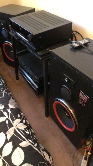 Complete stereo system Harman Kardon +Cerwin vega for Sale in Lowell, MA