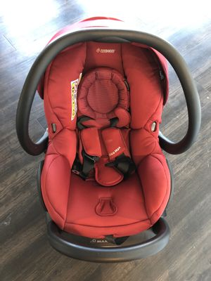 Maxi Cosi car seat gently used red for Sale in Portland, OR