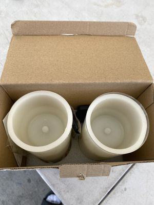 Wax flameless candles for Sale in Bloomington, CA