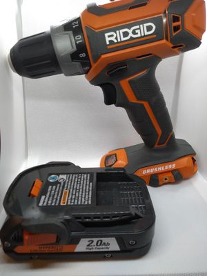 Ridgid Brushless Drill Driver With battery for Sale in St. Peters, MO