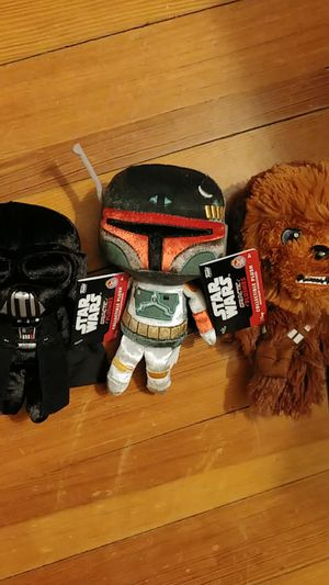 Star wars plushies for Sale in East Providence, RI