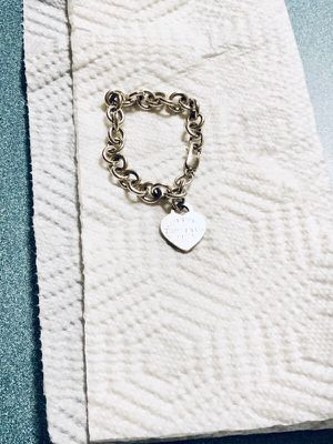 Tiffany's charm bracelet!! for Sale in Gambrills, MD
