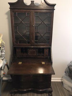 Antique secretarial desk for Sale in Alexandria, VA