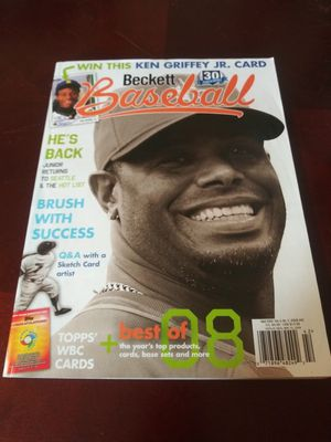 Baseballs sports cards magazines for Sale in Central Falls, RI
