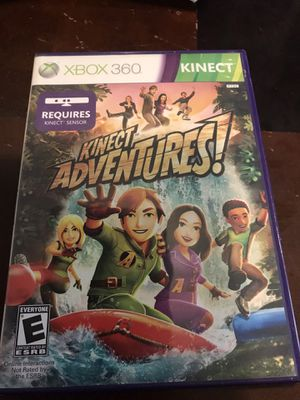 Kinect adventures - Xbox 360 game for Sale in Houston, TX