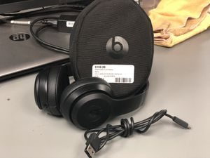 Headphones, Electronics Beats Solo 3 Wireless W/USB Case Black .. Negotiable for Sale in Baltimore, MD