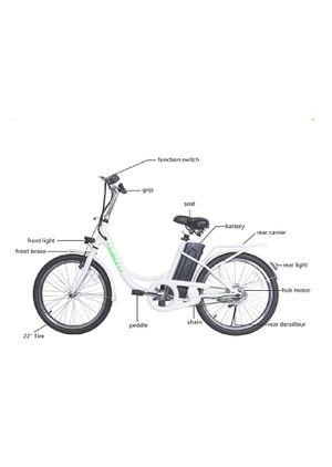 """Electric Bicycle 22"""" 250W 36V 10A for Sale in Brooklyn, NY"""