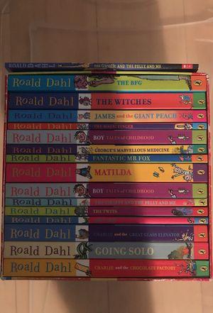Roald Dahl 15 books set plus a bonus book for Sale in Scottsdale, AZ