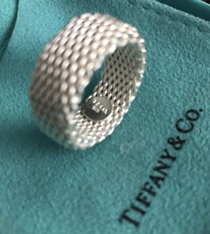 Most amazing Tiffany & Co. sterling silver ring for Sale in Silver Spring, MD