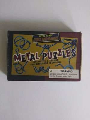 Retro Range Metal Puzzles for Sale in Victorville, CA
