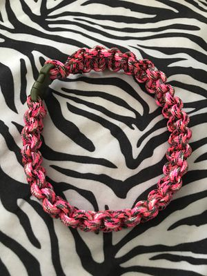 Pink camo paracord dog collar for Sale in Meridian, ID