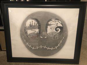Jack Skellington art - Nightmare Before Christmas, Tim Burton for Sale in Las Vegas, NV