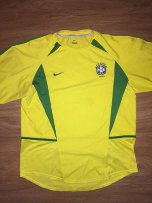 Nike Authentic Brazil Soccer Jersey Size Large 🇧🇷 for Sale in Alexandria, VA