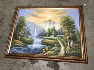 Decorative Forest Painting for Sale in South El Monte, CA