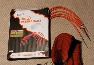 Soccer passing gates and field cones for Sale in Falls Church, VA