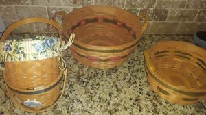 LONGABERGER BASKETS for Sale in Charlotte, NC
