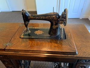 1912 Antique Singer Sewing Machine for Sale in Attleboro, MA