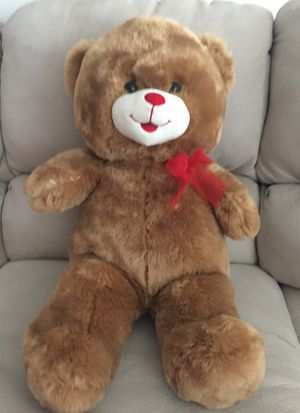 Cute 30 inches battery operated teddy bear for Sale in Sacramento, CA