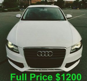 I sell my2O1O Audi A4_Quattro for Sale in Washington, DC