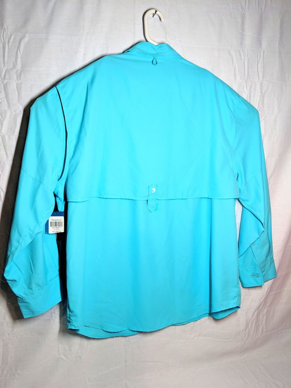 Mens New Outdoor Vented Fishing Shirt sz XL