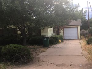 3 bedroom 2 bath near Goodfellow ,needs interior touch ups selling for $80,000 cash for Sale in San Angelo, TX