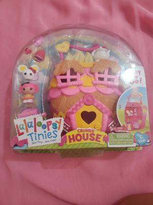 Lalaloopsy tinies crumbs house for Sale in Los Angeles, CA
