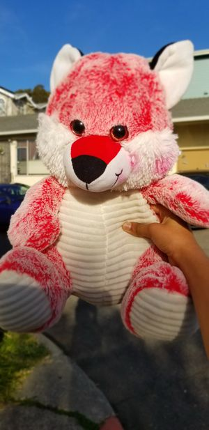 Cute pink bear plushie for Sale in Hayward, CA