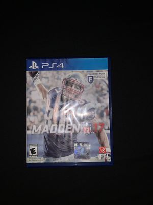 Madden 17 PS4 for Sale in Perris, CA