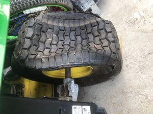 Looking for used John Deere back tires for Sale in Smyrna, DE