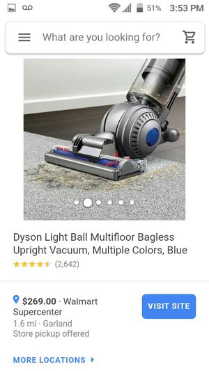 Dyson light ball vacuum new for Sale in Garland, TX