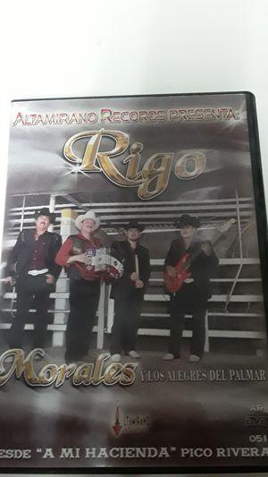 Rigo Morales (dvd) en concierto for Sale in Moreno Valley, CA