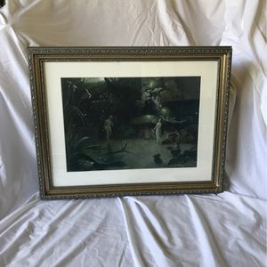 Victorian Faeries Print/Painting for Sale in Los Angeles, CA
