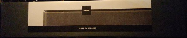 Bose TV Soundbar Model #{contact info removed} . NEW!