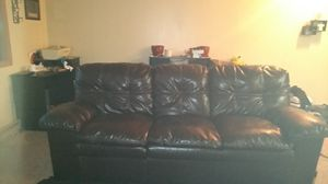 Leather Couch for Sale in Beresford, SD