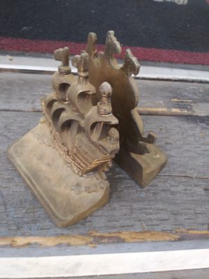 Antique Brass Bookends for Sale in Anaheim, CA