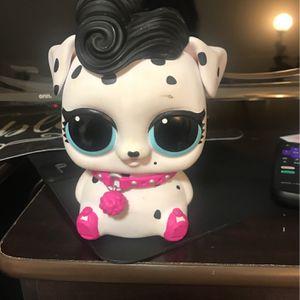 LOL doll pets piggy bank for Sale in Walnut, CA