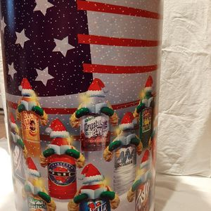 Exclusive Holiday Storage Barrel - Metal for Sale in Morristown, NJ