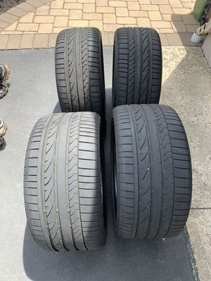 Tires-Bridgestone Potenza 285/30ZR19 & 255/35ZR19 for Sale in Eatontown, NJ