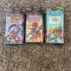 Pokémon Battle Deck Cards 10$ For 1 , 30$ For All Or Trade for Sale in Fairfield,  CA