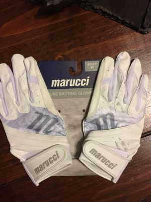 Softball Batting Gloves Adult Size Medium for Sale in Cave Creek, AZ