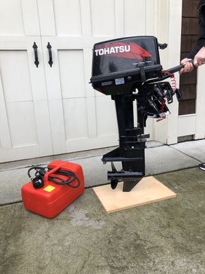 TOHATSU 9.8 Outboard Motor 2011/2012 for Sale in Bothell, WA