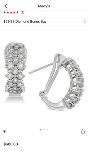 Diamond Earrings for Sale in Lawrence, MA
