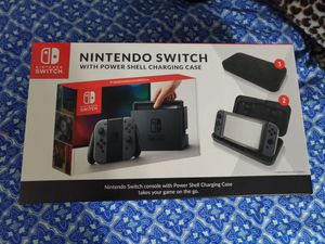 Nintendo Switch with Shell charger for Sale in Arlington, TX