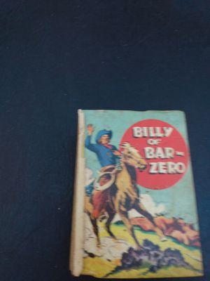 billy of bar zero 1940 saalfield hardcover book for Sale in Miami, FL