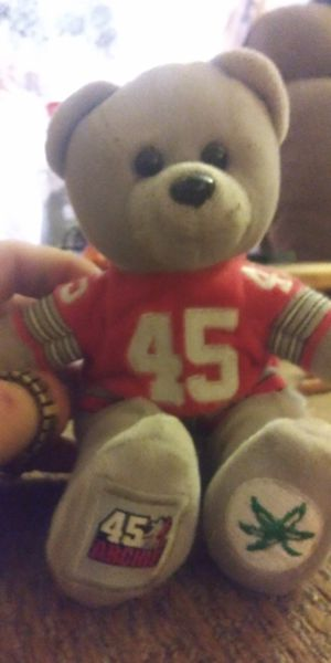 RARE! OHIO STATE BUCKEYES BEANIE BABIES. ASKING $40 OBO!! for Sale in Columbus, OH