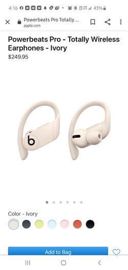 Powerbeats pro Brand new. White for Sale in Beaverton,  OR