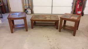 Ashley Coffee Table and 2 End Tables for Sale in Palmerton, PA